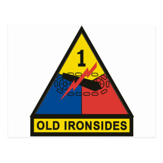 1st Armored Division Post Card