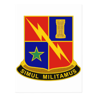 1st Armored Division Special Troops Battalion Mili Post Card