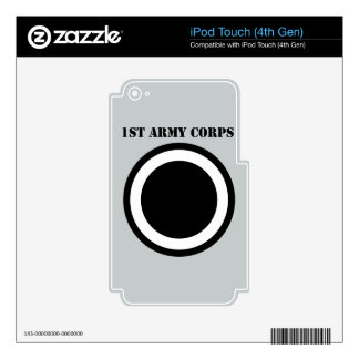 1st Army Corps With Text iPod Touch 4G Skin