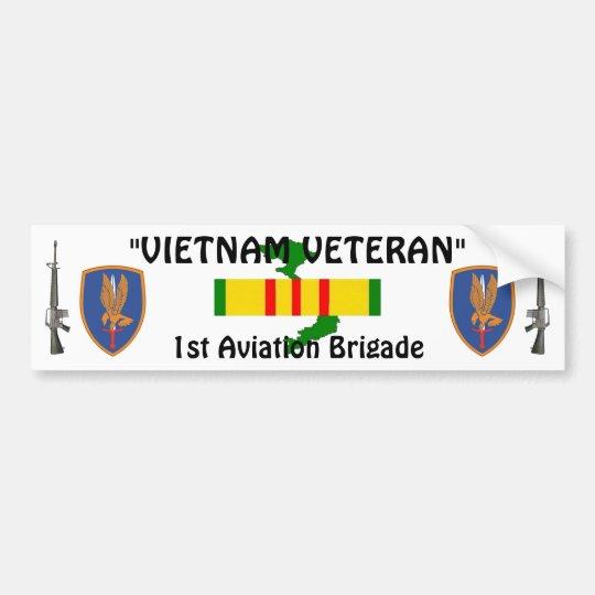 1st Aviation Brigade bumper sticker