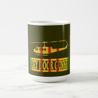 1st Aviation Brigade UH-1 Huey Door Gunner Mug