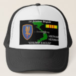 """1St Aviation Brigade Vietnam Veteran Ball Caps<br><div class=""""desc"""">Designed By A Vietnam Veteran --Designs feature: Vietnam Veterans who where in the Army, Marines, Armor, their Divisions, Battalions, Brigades .High Quality printing, a must for the Vietnam Veteran .Been there done that show it. Please check out the rest of our store for many girft items. Try our T-Shirts--Mousepads--Coffee Mugs...</div>"""