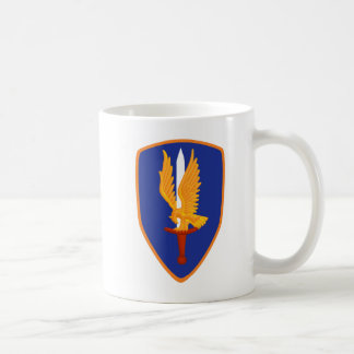 1st Avn Bde Class A Patch Classic White Coffee Mug
