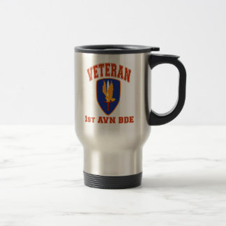 1st Avn Bde College Style Class A Patch Coffee Mug