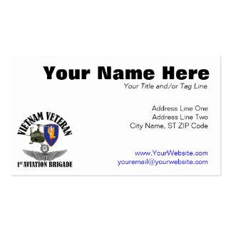 1st Avn Bde Master Aviator Double-Sided Standard Business Cards (Pack Of 100)