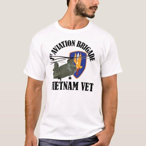 1st AVN BDE Vietnam CH_47 T_Shirt