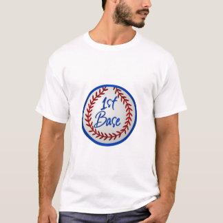 1st Baseman and Baseball T-Shirt