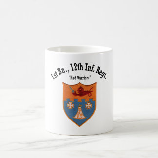 "1st Battalion, 12th Inf ""Red Warriors"" - Cup"