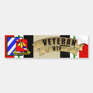 1st Battalion, 41st FA 3ID Bumper Sticker