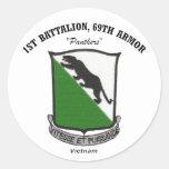 1st Battalion, 69th Armor Stickers