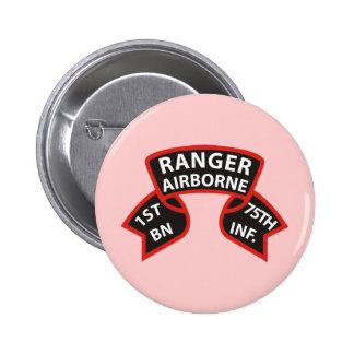 1st Battalion 75th Infantry Ranger A/B Button