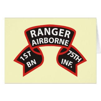1st Battalion 75th Infantry Ranger A B Cards