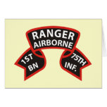 1st Battalion 75th Infantry Ranger A/B Cards