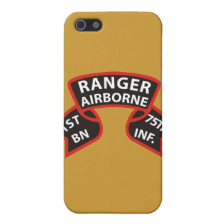 1st Battalion 75th Infantry Ranger A/B Cases For iPhone 5