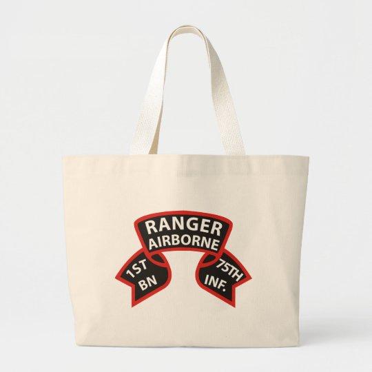 1st Battalion 75th Infantry Ranger A/B Large Tote Bag