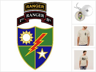 1st Battalion - 75th Ranger Regiment w/ Ranger Tab