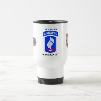 1ST BATTALION (ABN) 503D INFANTRY TRAVEL MUG
