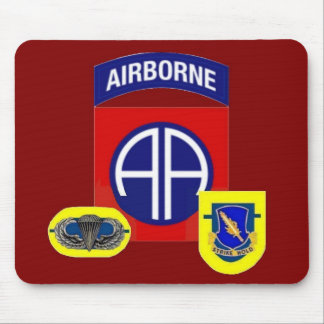 1st Battalion (Abn) 504th Infantry Mousepad