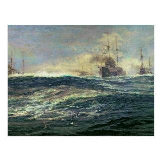 1st Battle Squadron of Dreadnoughts Postcard