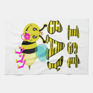 1st bay bee girl towels