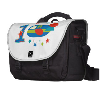 1st Birthday Airplane Computer Bag