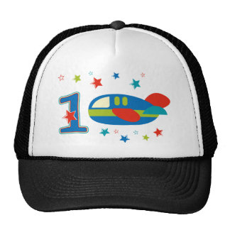 1st Birthday Airplane Trucker Hat