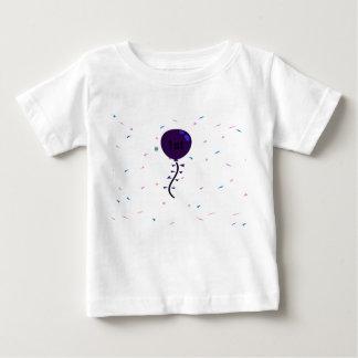 1st birthday balloon t-shirt