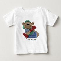 1st Birthday Bear (customizable) Baby T-Shirt