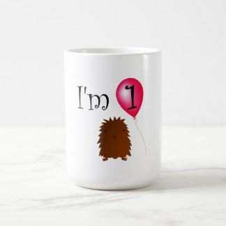 1st Birthday bigfoot red balloon Mug