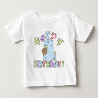 1st Birthday Boy,African American Baby T-Shirt