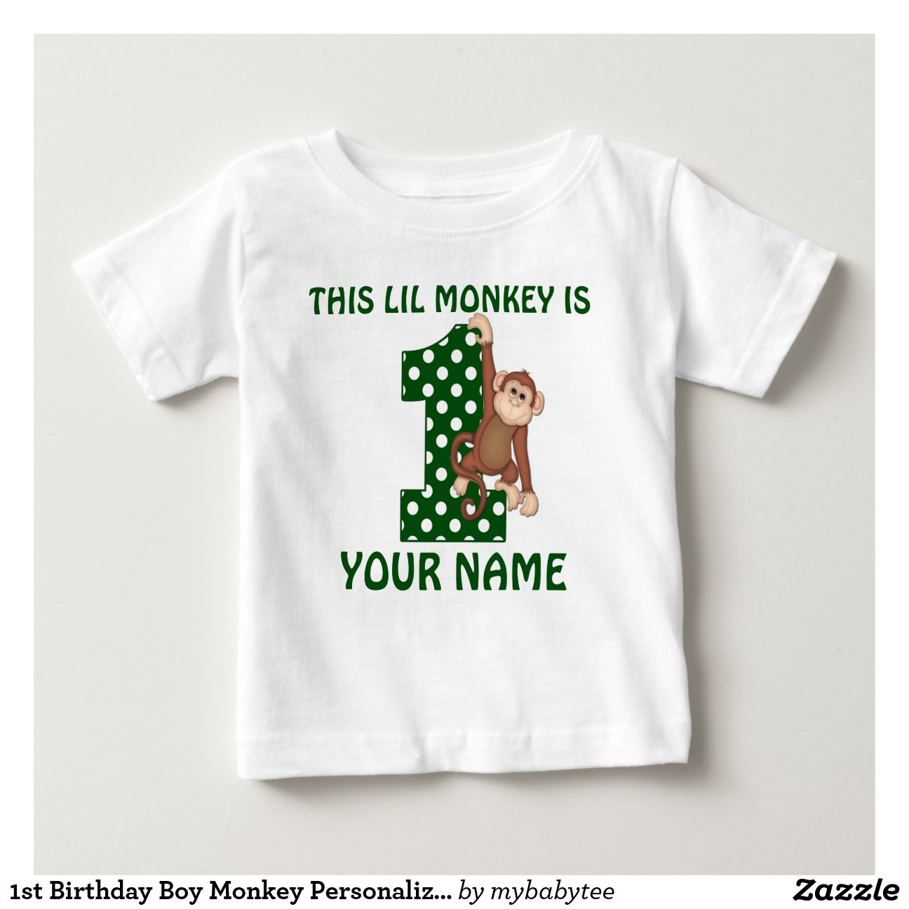 Lil monkeys personalized baby gifts 1st birthday boy monkey lil monkeys personalized baby gifts negle Gallery