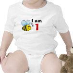 1st birthday bumble bee gift idea baby bodysuits
