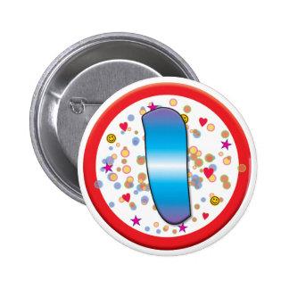 1st Birthday Pinback Button