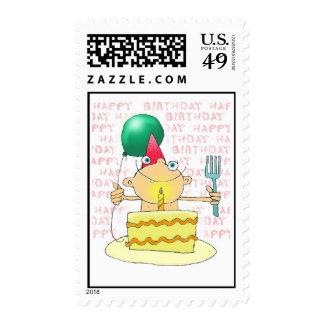 1st Birthday Cake Stamp