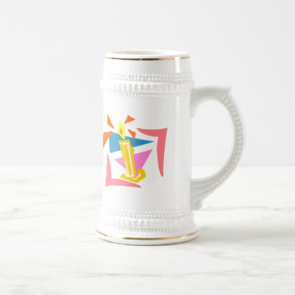 1st Birthday Candle Coffee Mugs