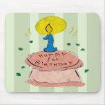 1st Birthday Celebration Mouse Pad