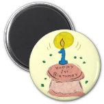 1st Birthday Celebration Refrigerator Magnet