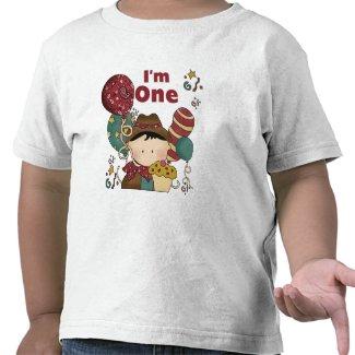 1st Birthday Cowboy Tshirts and Gifts shirt