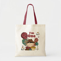 1st Birthday Cowboy Tshirts and Gifts Tote Bag