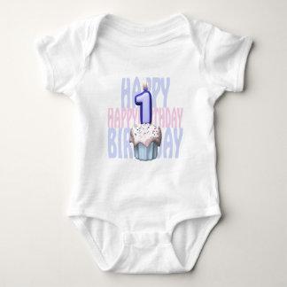 1st Birthday Cupcake Birthday Baby Bodysuit