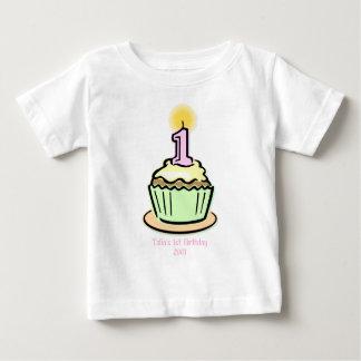 1st Birthday - Cupcake T Shirt