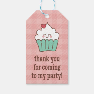 1st Birthday Cupcakes - Gift Tag