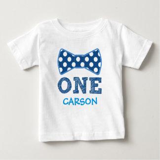 1st Birthday - Custom Name -Bow Tie T-shirt