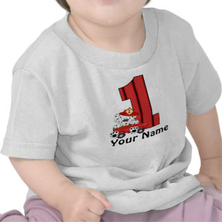 1st Birthday Dalmation Personalized T Shirt