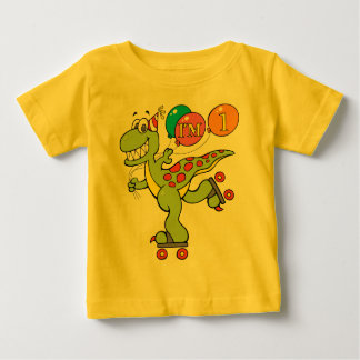 1st Birthday Dinosaur Baby T-Shirt