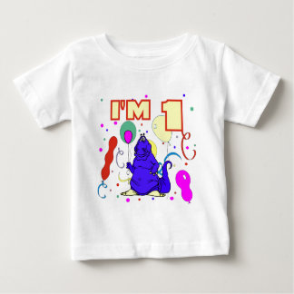 1st Birthday Dinosaur Birthday Baby T-Shirt
