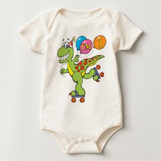 1st Birthday Dinosaur Bodysuit