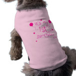 1st Birthday Dog Dog Clothes