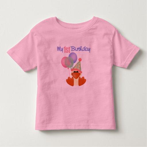 1st Birthday Duck Birthday Shirt