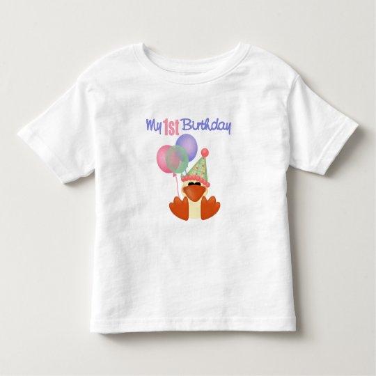 1st Birthday Duck Birthday Toddler T-shirt